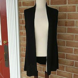 Eileen Fisher tunic length vest